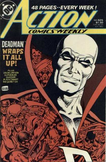 Action Comics 625 - Deadman - No 625 - Green Lantern - Deadman Wraps It All Up - Black Canary - Eduardo Barreto