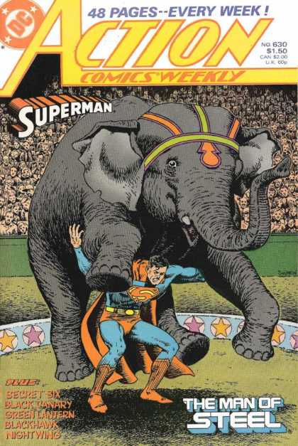 Action Comics 630 - John Severin
