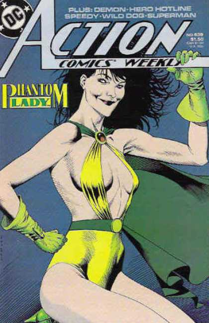 Action Comics 639 - Phantom Lady - Kevin Nowlan