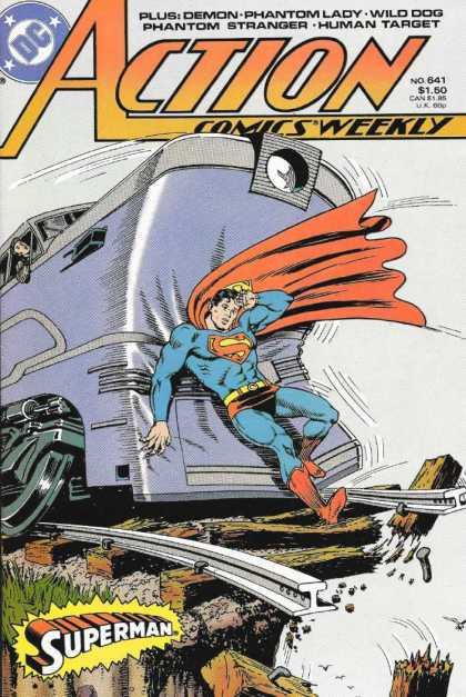 Action Comics 641 - Murphy Anderson