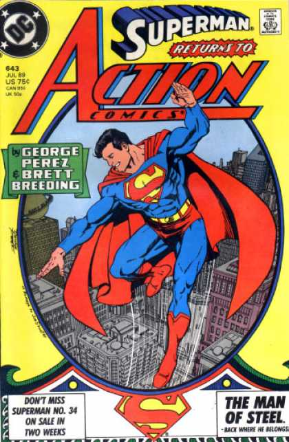 Action Comics 643 - George Perez