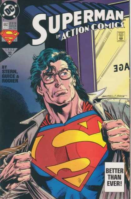 Action Comics 692 - Superman - Glasses - Denis Rodier, Kerry Gammill