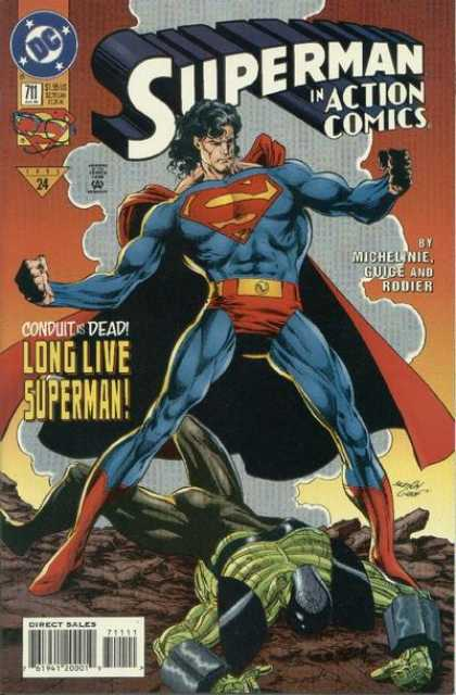 Action Comics 711 - Superman - Conduit - Man - Muscle - Brief