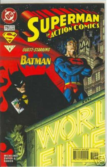 Action Comics 719 - Batman - Superman - Dc - Superhero - Guest Starrng - Denis Rodier