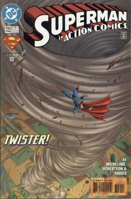 Action Comics 722 - Denis Rodier, Tom Grummett