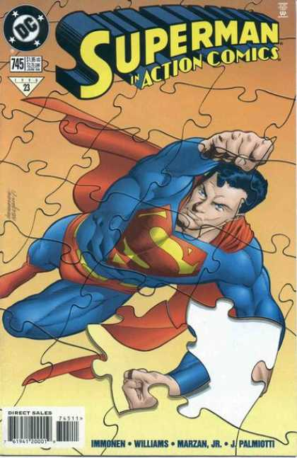 Action Comics 745 - Superman - Puzzle - Piece - Stuart Immonen