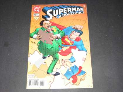 Action Comics 746 - Superman - Puzzle - Dc - Dc Comics - Clark Kent - Stuart Immonen