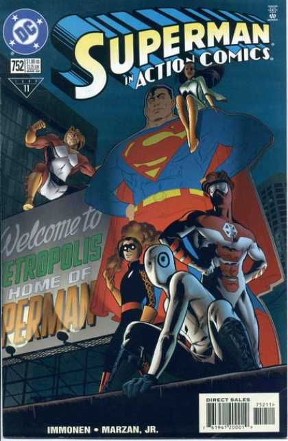 Action Comics 752 - Stuart Immonen