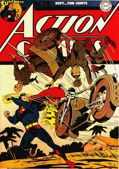 Action Comics 76 - Japanese