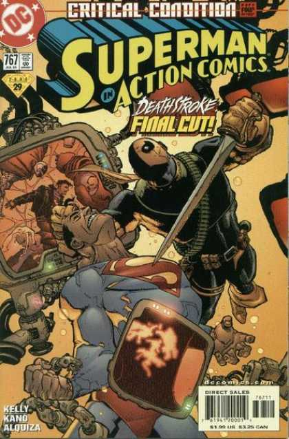 Action Comics 767 - Deathstroke - Superman - Sword - Dc - Death Stroke Final Cut - Doug Mahnke