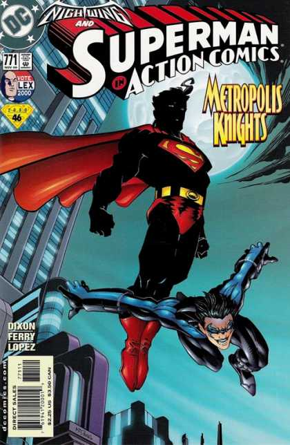 Action Comics 771 - Superman - Action Comics - Nightwing - Metropolis Knights