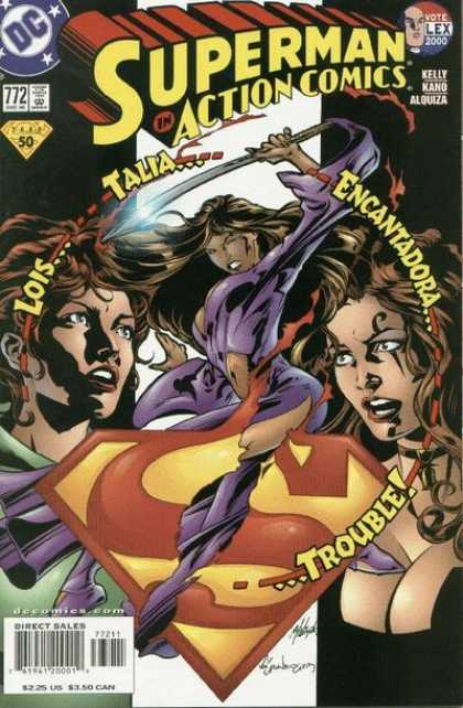 Action Comics 772 - Talia - Lois - Dc - Superman - Encantadora