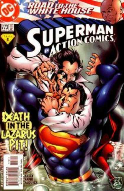 Action Comics 773 - Lazarus - Superman - Bald - Pit Of Death - Super Swamp