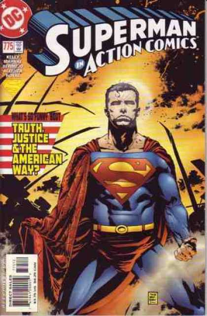 Action Comics 775 - Superman - Tim Bradstreet