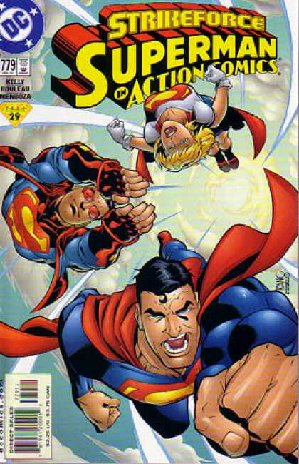 Action Comics 779 - Supergirl - Superman - Superboy - Flying - Strikeforce