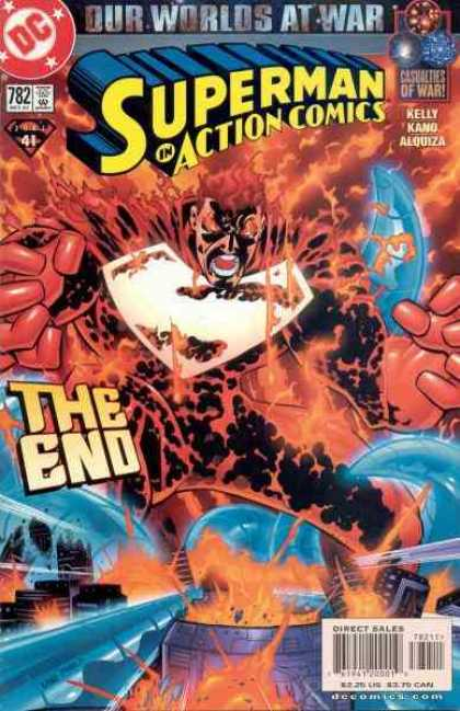 Action Comics 782 - Superman - End - Is It Just You Or Is It Hot In Here - Is It Really The End - Can Superman Burn