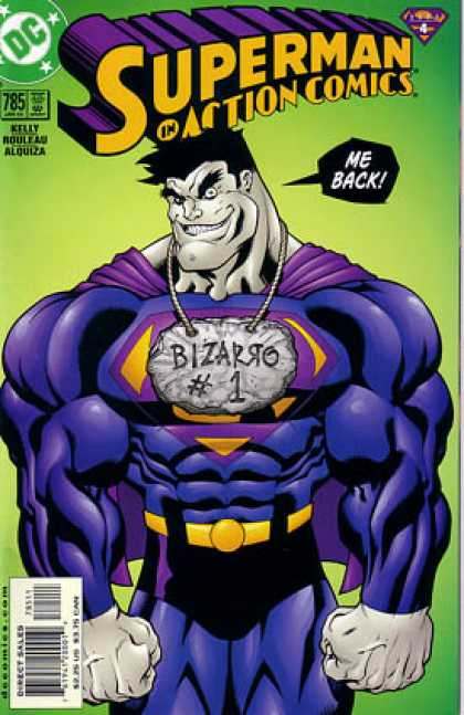 Action Comics 785 - Bizarro - Me Back - Action Comics - Green - Dc Comics - Ed McGuinness