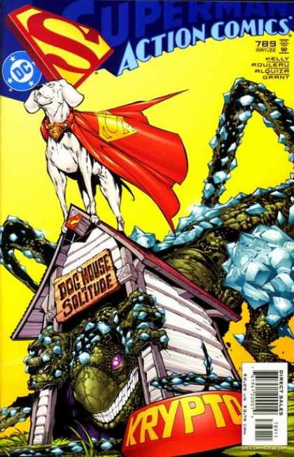 Action Comics 789 - Krypto - Dog - Superdog - House - Dog House - Duncan Rouleau