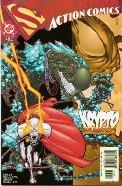 Action Comics 790 - Krypto - Superman - Unleashed - Duncan Rouleau