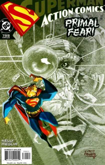 Action Comics 799 - Superman - Monkey - Primal Fear - Kelly Meglia - Superhero
