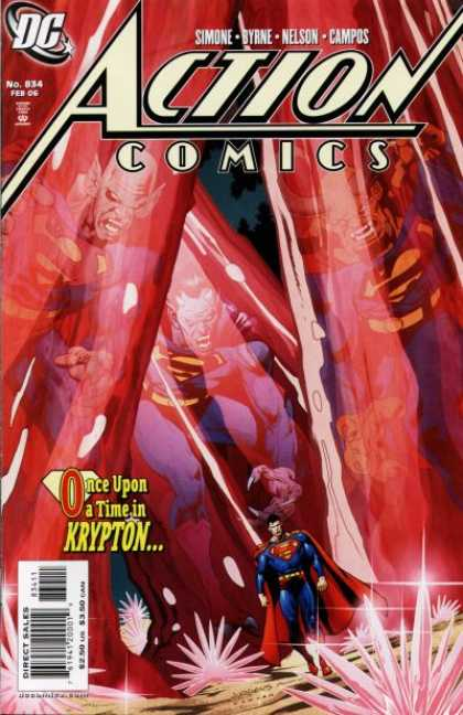 Action Comics 834 - Superman - Dc - Once Upon A Time In Krypton - Krypton - Once Upon A Time - Dan Jurgens, Kevin Nowlan