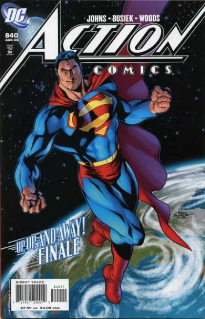 Action Comics 840 - Superman - Earth - Supermans Last Conquest - Red Blue And Mean - Fists Of Glory - Alex Sinclair, Terry Dodson