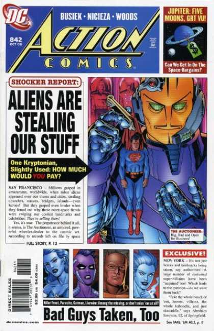 Action Comics 842 - Aliens - Dave Gibbons