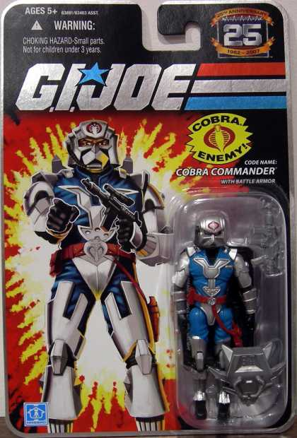 Action Figure Boxes - G.I. Joe Cobra Commander