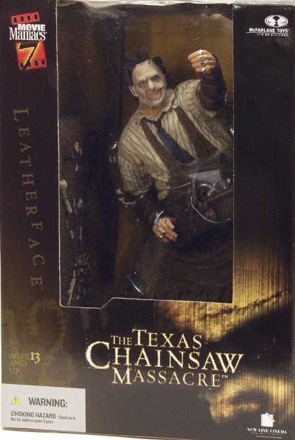 Action Figure Boxes - Texas Chainsaw Massacre: Leatherface