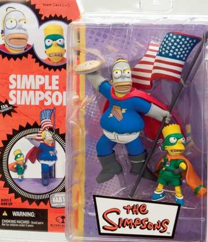 Action Figure Boxes - Simpsons