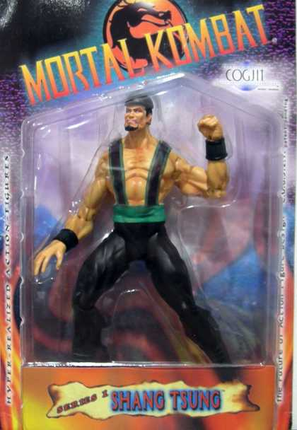 Action Figure Boxes - Mortal Kombat: Shang Tsung