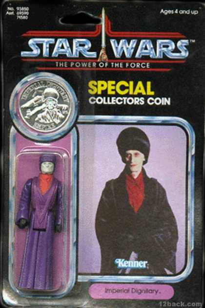 Action Figure Boxes - Star Wars: Imperieal Dignitary