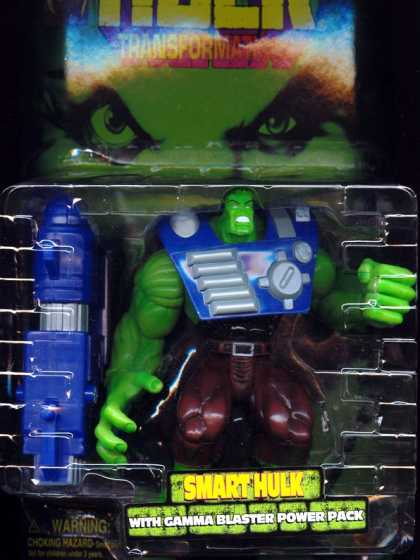 Action Figure Boxes - Smart Hulk