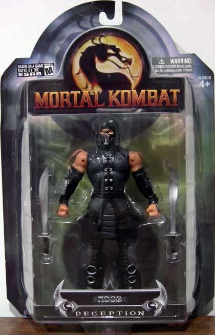 Action Figure Boxes - Mortal Kombat: Noob Deception