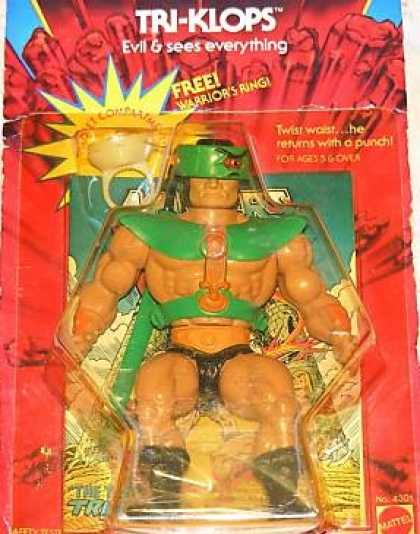 Action Figure Boxes - Masters of the Universe: Tri-Klops