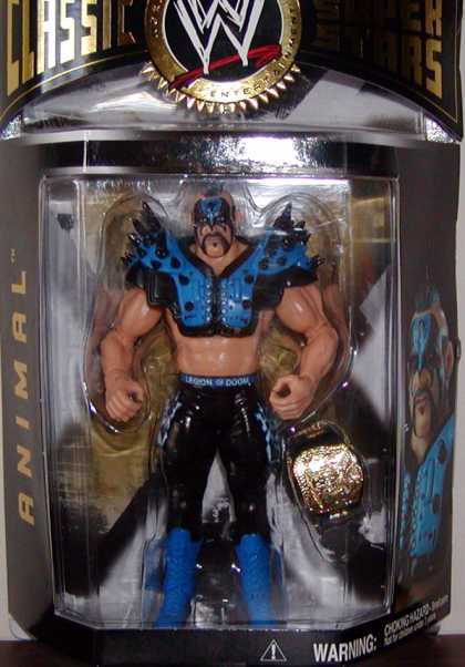 Action Figure Boxes - WWE: Animal