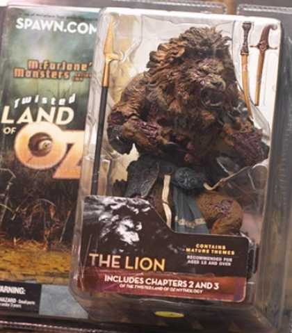 Action Figure Boxes - Twister Land of Oz: The Lion