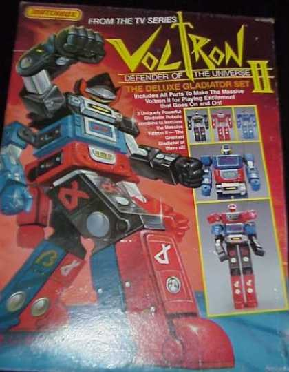 Action Figure Boxes - Voltron