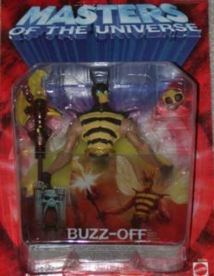 Action Figure Boxes - Masters of the Universe: Buzz-Off