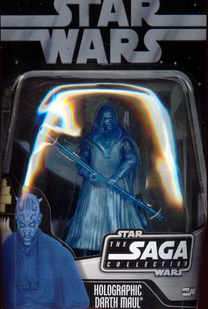 Action Figure Boxes - Star Wars Holographic Darth Maul