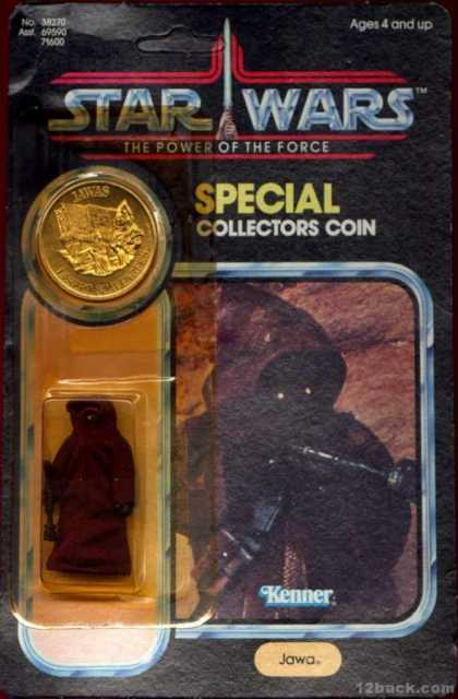 Action Figure Boxes - Star Wars Jawa