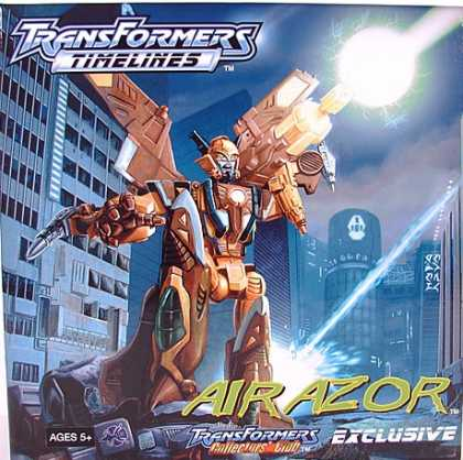 Action Figure Boxes - Transformers: Air Azor