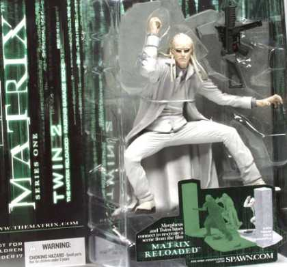 Action Figure Boxes - Matrix: Twin 2