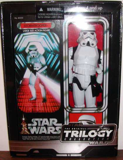 Action Figure Boxes - Star Wars Stormtrooper