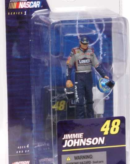 Action Figure Boxes - Nascar: Jimmie Johnson