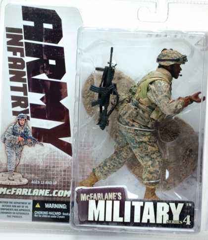 Action Figure Boxes - Army Infantry