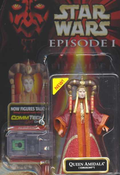 Action Figure Boxes - Star Wars: Queen Amidala