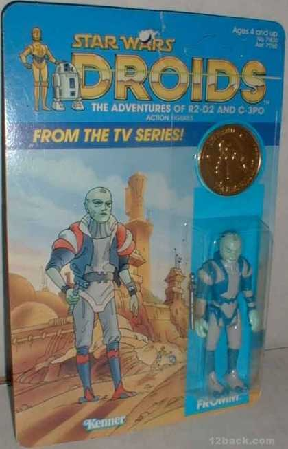 Action Figure Boxes - Star Wars Droids