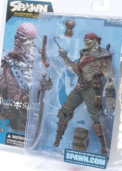 Action Figure Boxes - Spawn Pirate