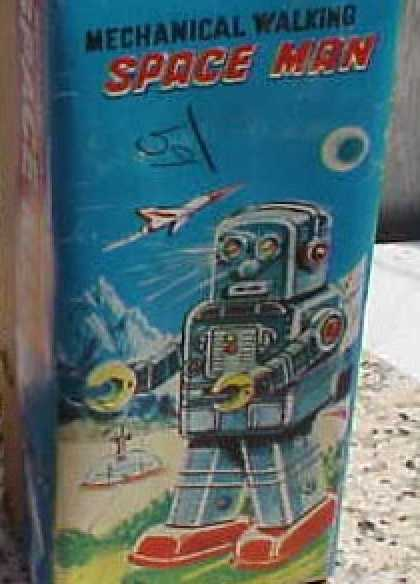 Action Figure Boxes - Space Man